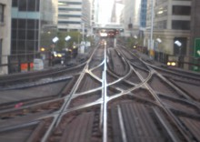 Intersecting tracks